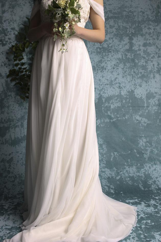 ボタニカル ナチュラル ウェディングドレス