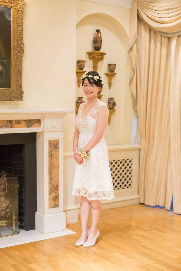 海外挙式 オーダーメイドドレス