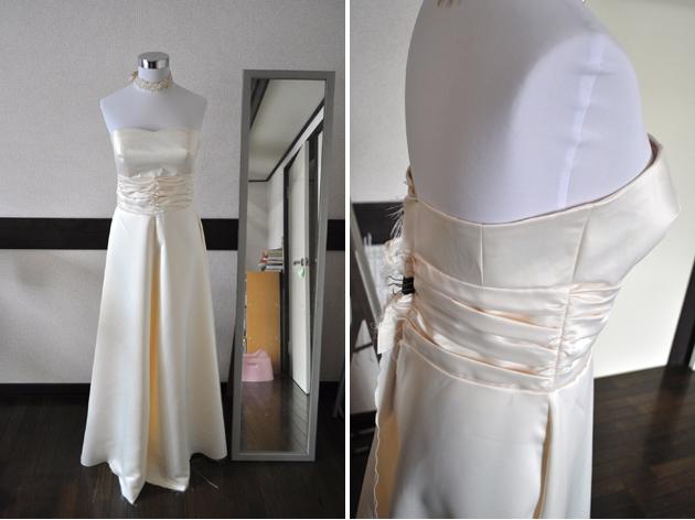 Making Wedding Dress Pt. 7 - Skirt Part | Vivat Veritas