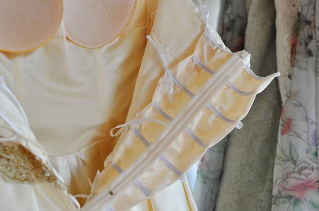 Putting ribbon on my nipples - 2 9